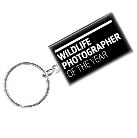 Wildlife Photographer of the Year Logo Keyring