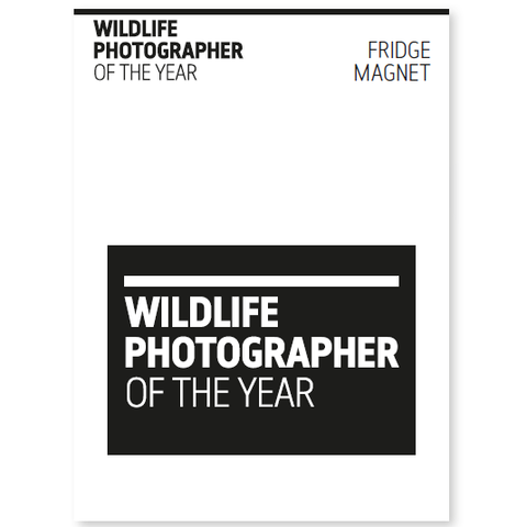 Wildlife Photographer of the Year Logo Magnet