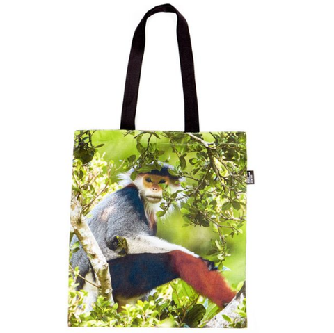 Wildlife Photographer of the Year Treetop Douc Tote Bag