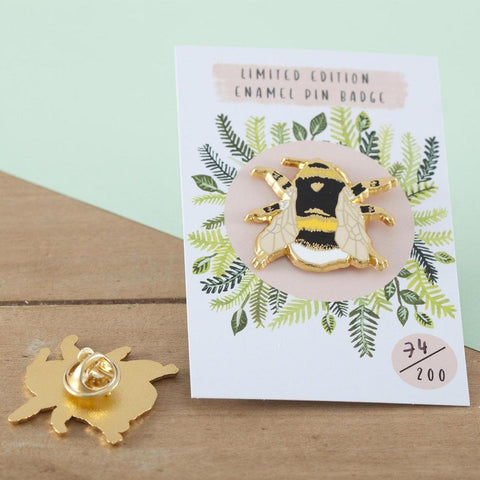 British Bee Pin Badge