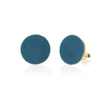 Coloured Brass Round Studs - Various Colours