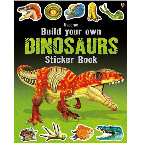 Build your own Dinosaur Sticker Book