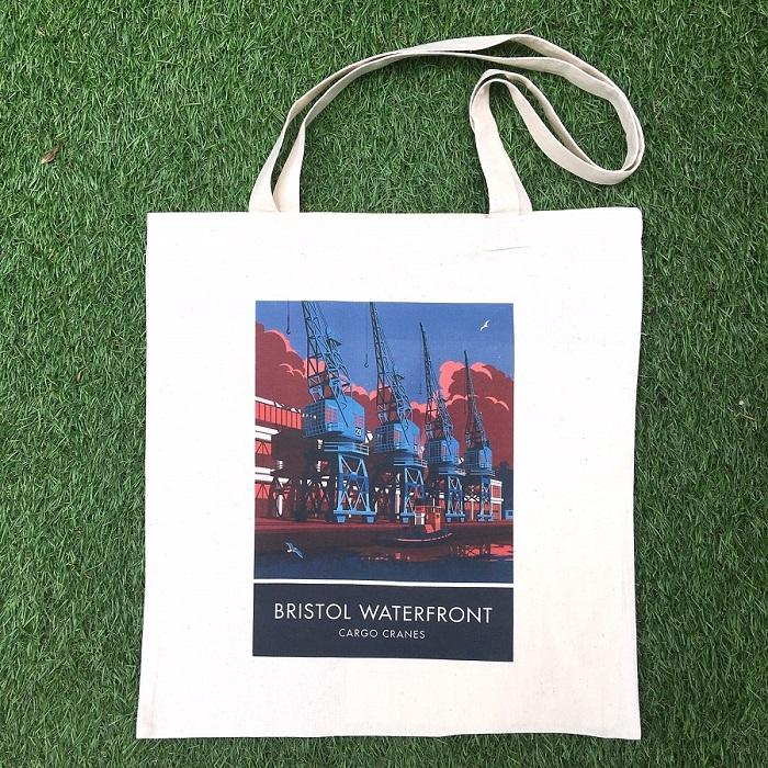 Bristol Waterfront Tote Bag