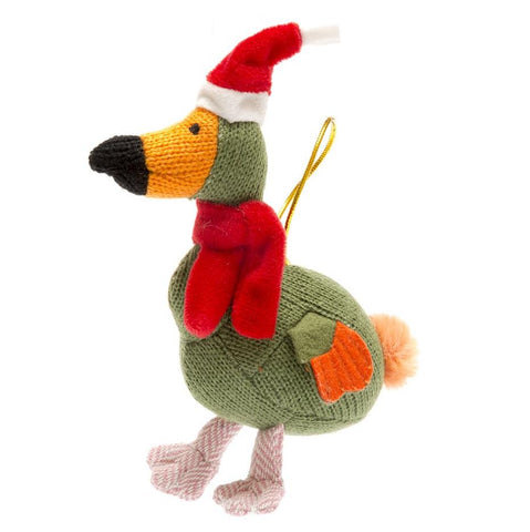 Knitted Dodo Christmas Decoration