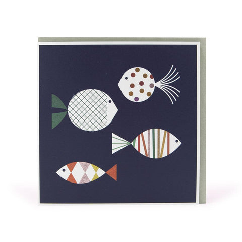 Fish Greetings Card