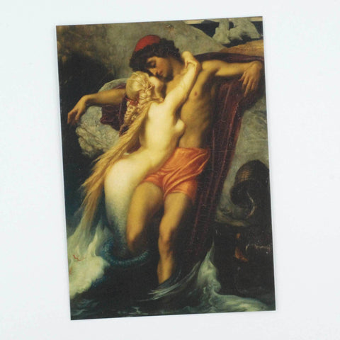 The Fisherman and the Syren Notecard