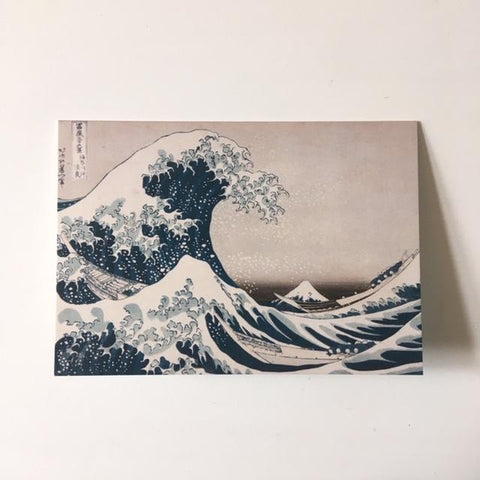 Great Wave Greetings Card