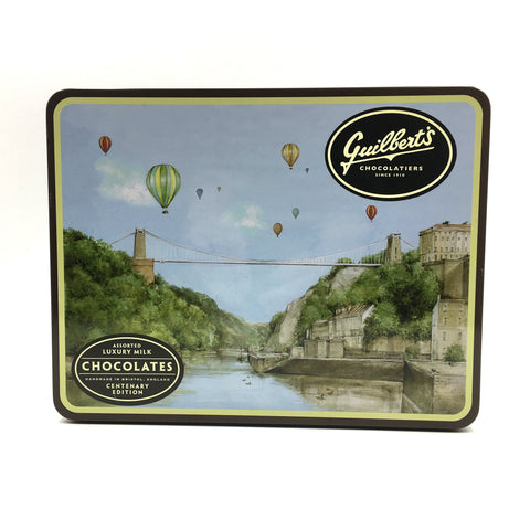 Clifton Suspension Bridge Chocolates Tin by Guilbert's