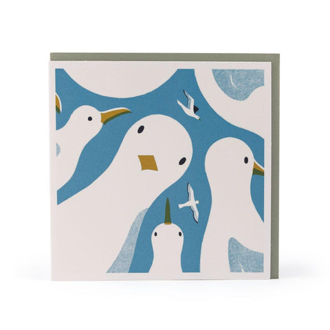 Gull Gang Greeting Card
