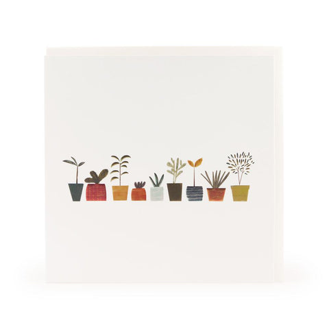 Little Plants Greeting Card