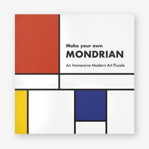 Make Your Own Mondrian: A Modern Art Puzzle