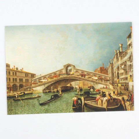 The Rialto Bridge Postcard