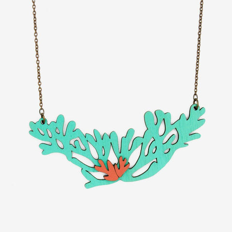 Sea Greenery Necklace
