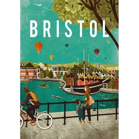 Everything Bristol Print by Emy Lou Holmes
