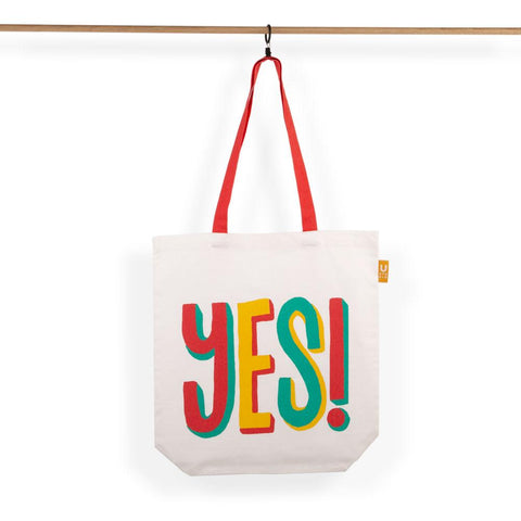 Yes No Tote Bag