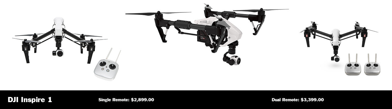Purchase the DJI Inspire 1 from Autonomous Avionics