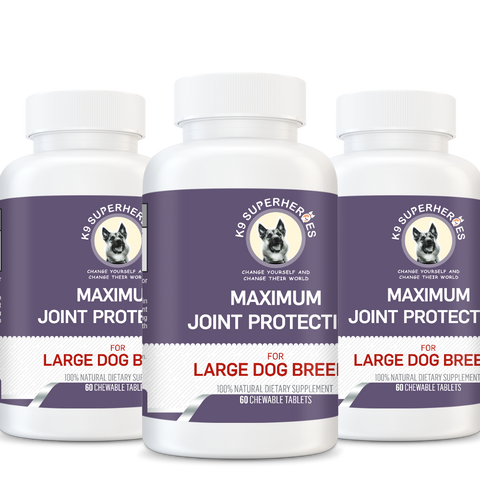 Maximum Joint Protection for Large Dog Breeds(x6)