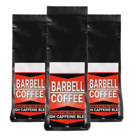 Barbell High Caffeine Ground Coffee