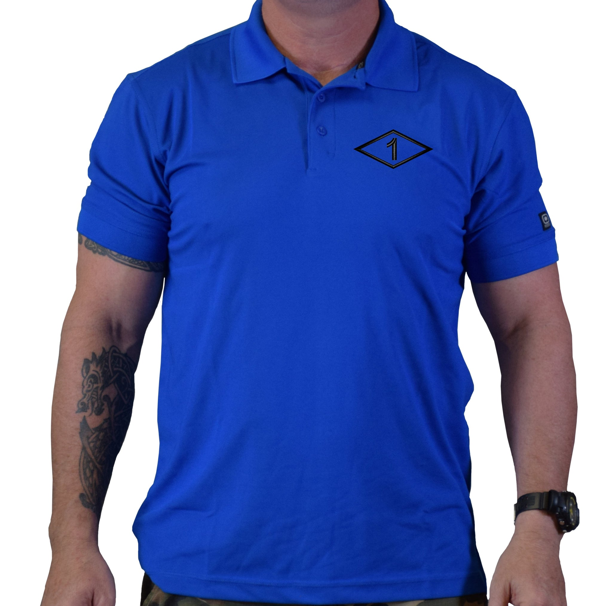 1st Batt Diamond Polo