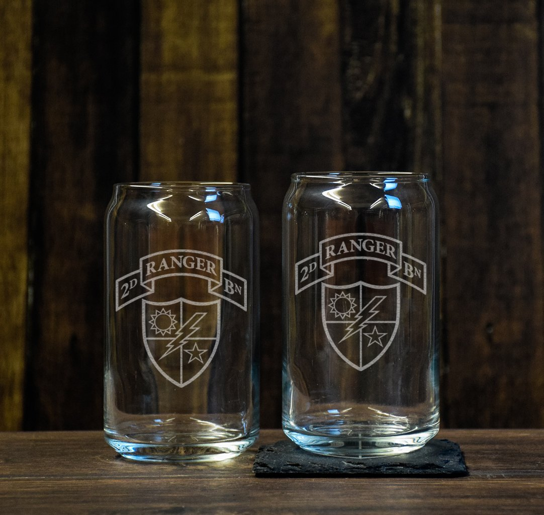 Ranger Scroll Beer Glass Set