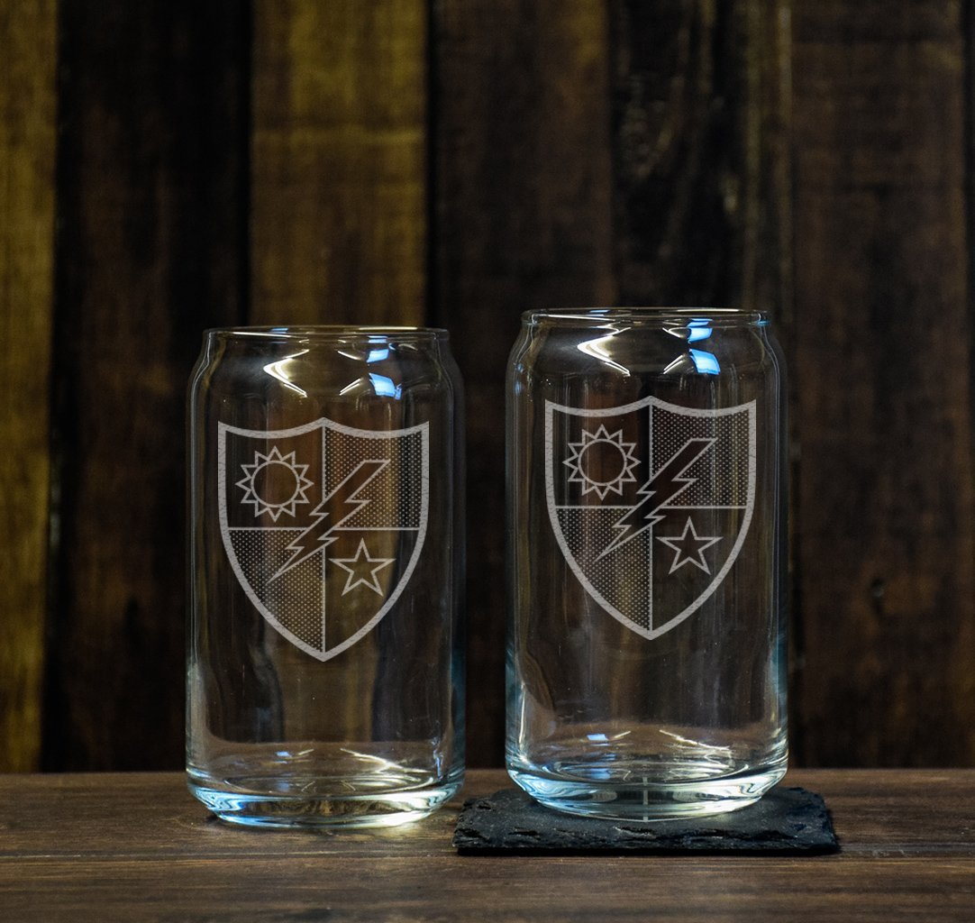 75th DUI Beer Glass Set