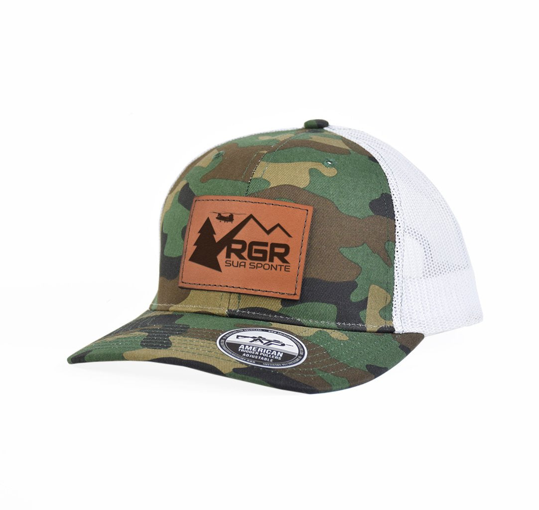 RGR Sua Sponte Leather Snap-Back