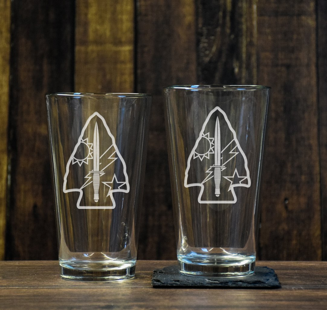 DUI Spearhead Pint Glass Set