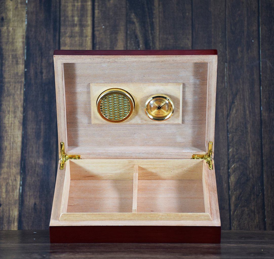 Custom Engraved Humidor