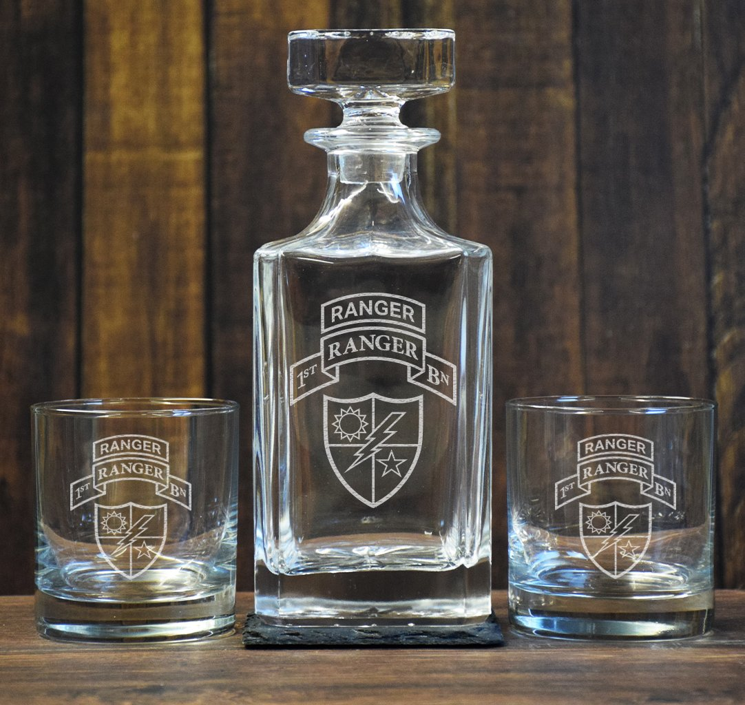 Ranger Low Ball Decanter Set