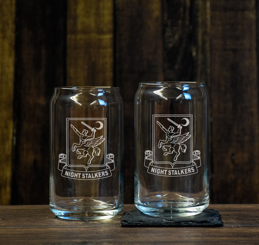 Night Stalkers Beer Glass Set