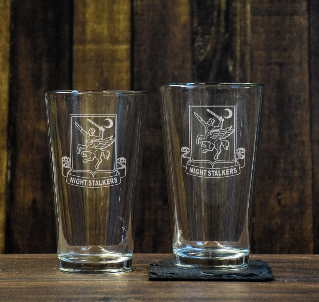 Night Stalker Pint Glass Set