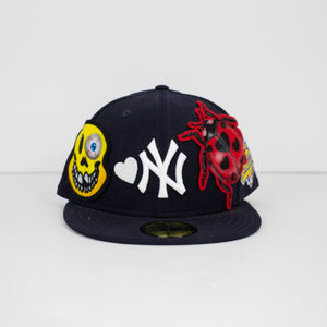 STFU x New Era 59/50 (Navy)