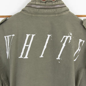 Off White Patch Jacket