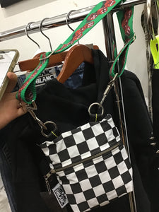 Checkerboard purse