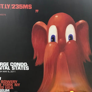 George Condo Exhibition Poster Mental States