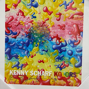Kenny Scharf Signed Exhibition Poster