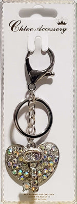Load image into Gallery viewer, 2pc Fashion Heart Key Chain - Emma's Boutique