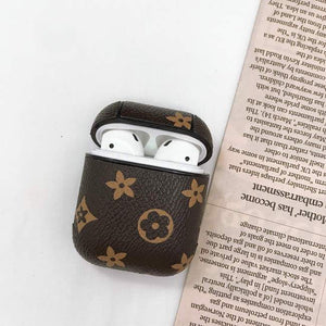 AirPods Brown Leather Case - Emma's Boutique