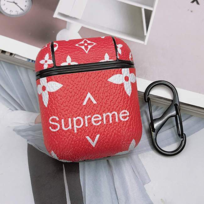 "AirPods Leather ""Supreme"" Case - Emma's Boutique"