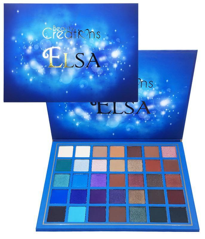 Elsa Eyeshadow Palette By Beauty Creations - Emma's Boutique