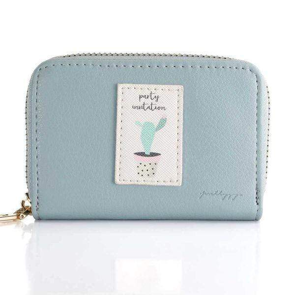 Blue Korean style wallet - Emma's Boutique