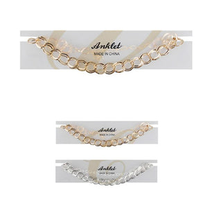 Chain Anklets - Emma's Boutique