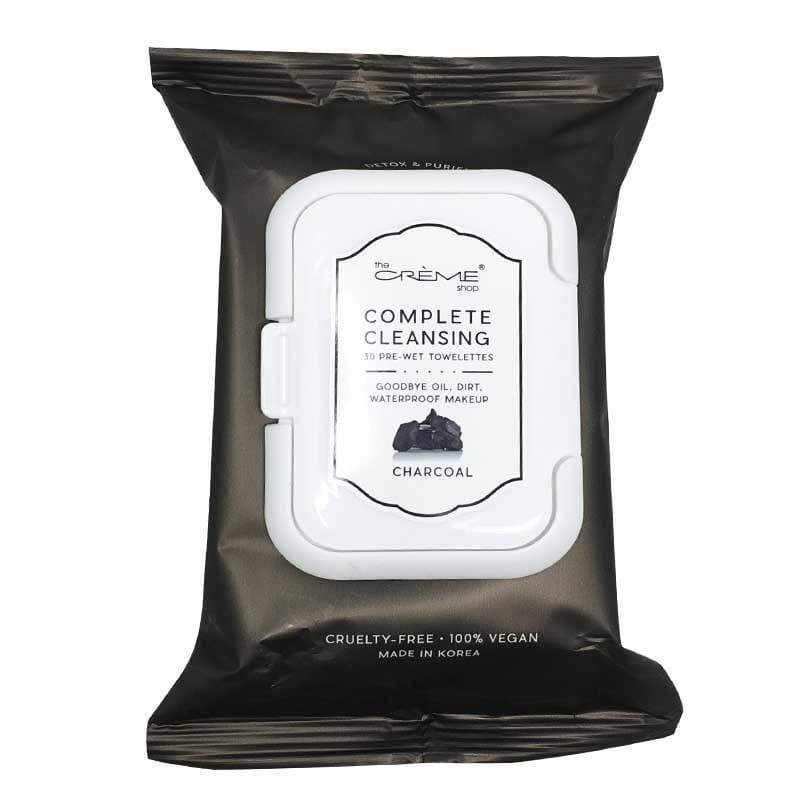 Charcoal 30 Pre-Wet Makeup Wipes - Emma's Boutique