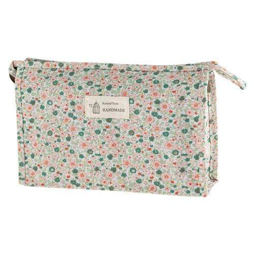 FLORAL COSMETICS BAG - STYLE 2 - Emma's Boutique