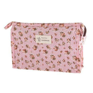 FLORAL COSMETICS BAG - STYLE 3 - Emma's Boutique