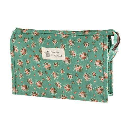 FLORAL COSMETICS BAG - STYLE 5 - Emma's Boutique