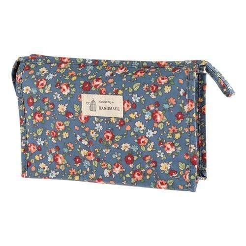 FLORAL COSMETICS BAG - STYLE 6 - Emma's Boutique