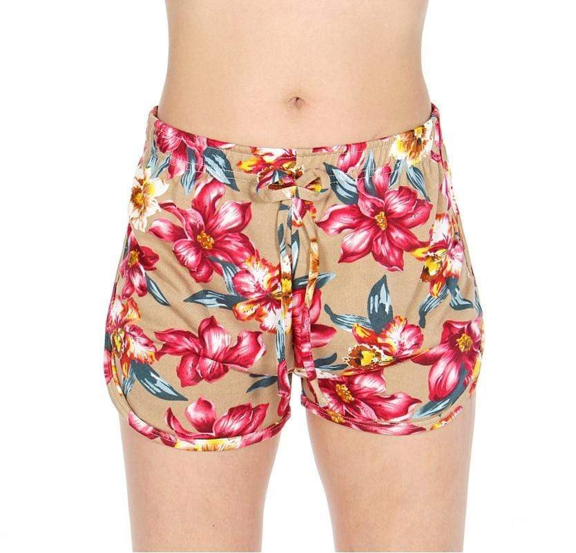 Flower print shorts - Emma's Boutique