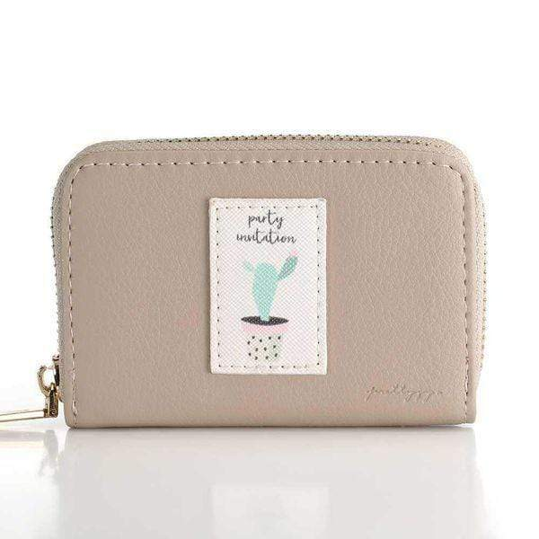 Gray Korean Style Wallet - Emma's Boutique