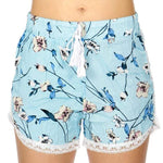 Load image into Gallery viewer, Lace trim shorts Flower - Emma's Boutique